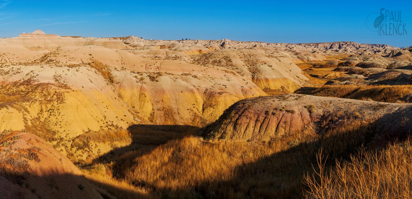Yellow Mounds, Badlands National Park, South Dakota