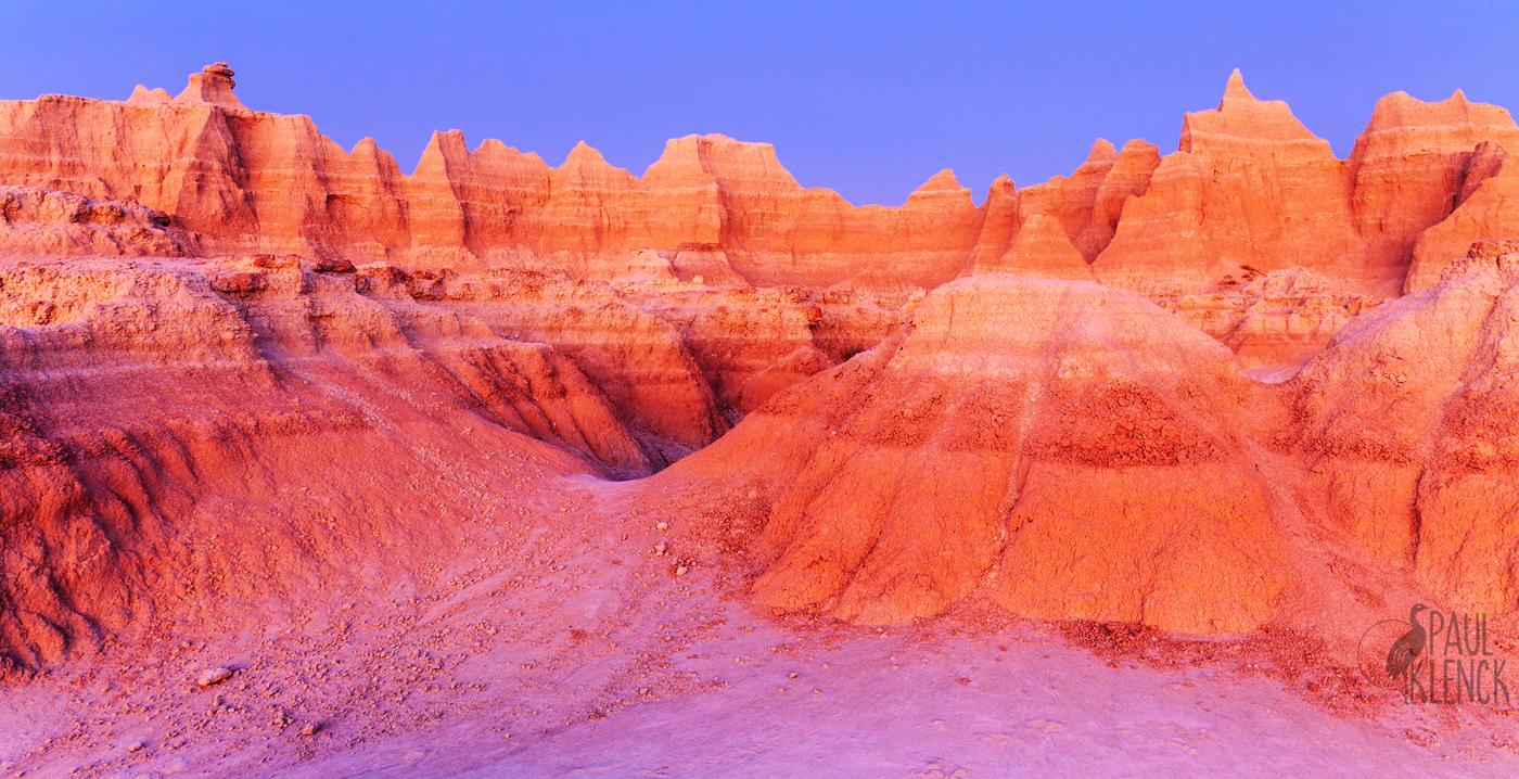 Badlands dawn
