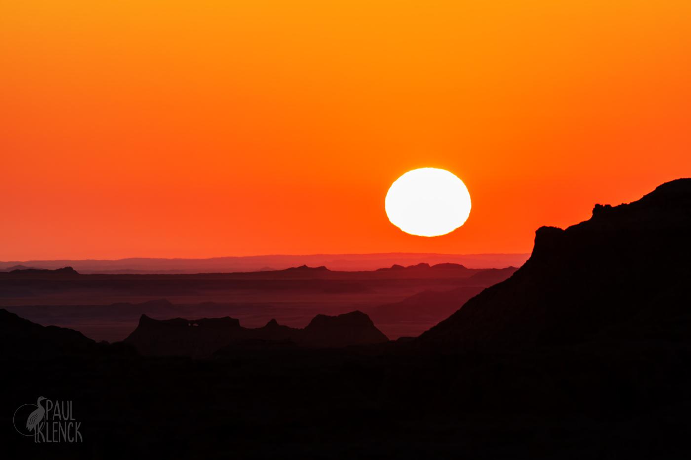 Sun up, Badlands National Park