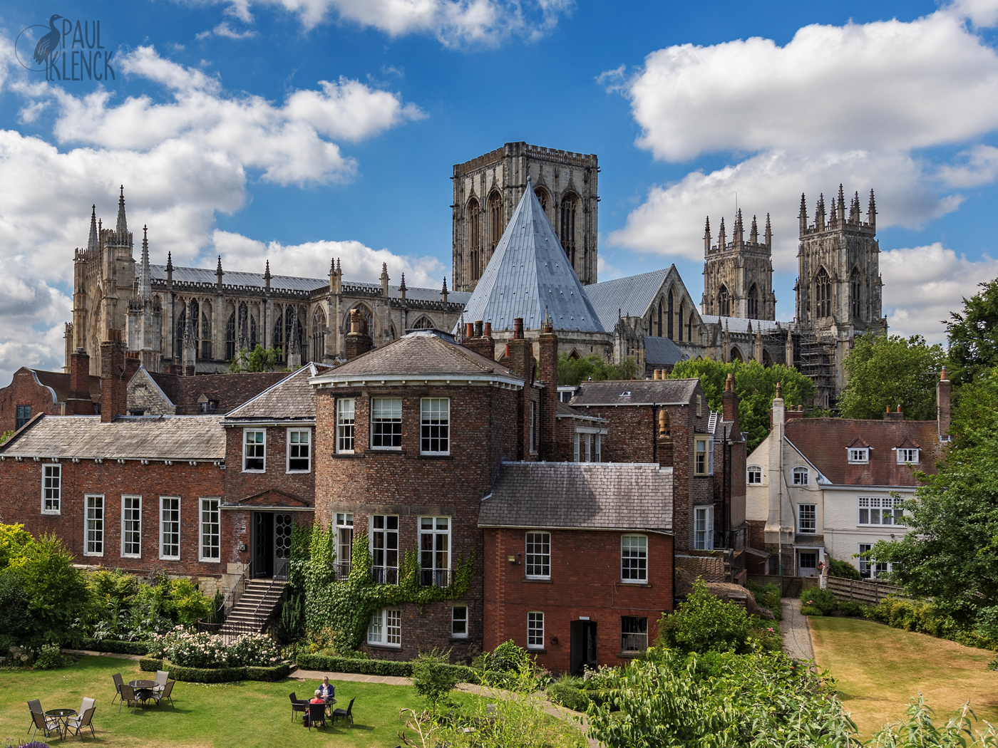 York Minster as viewed from the York City wall