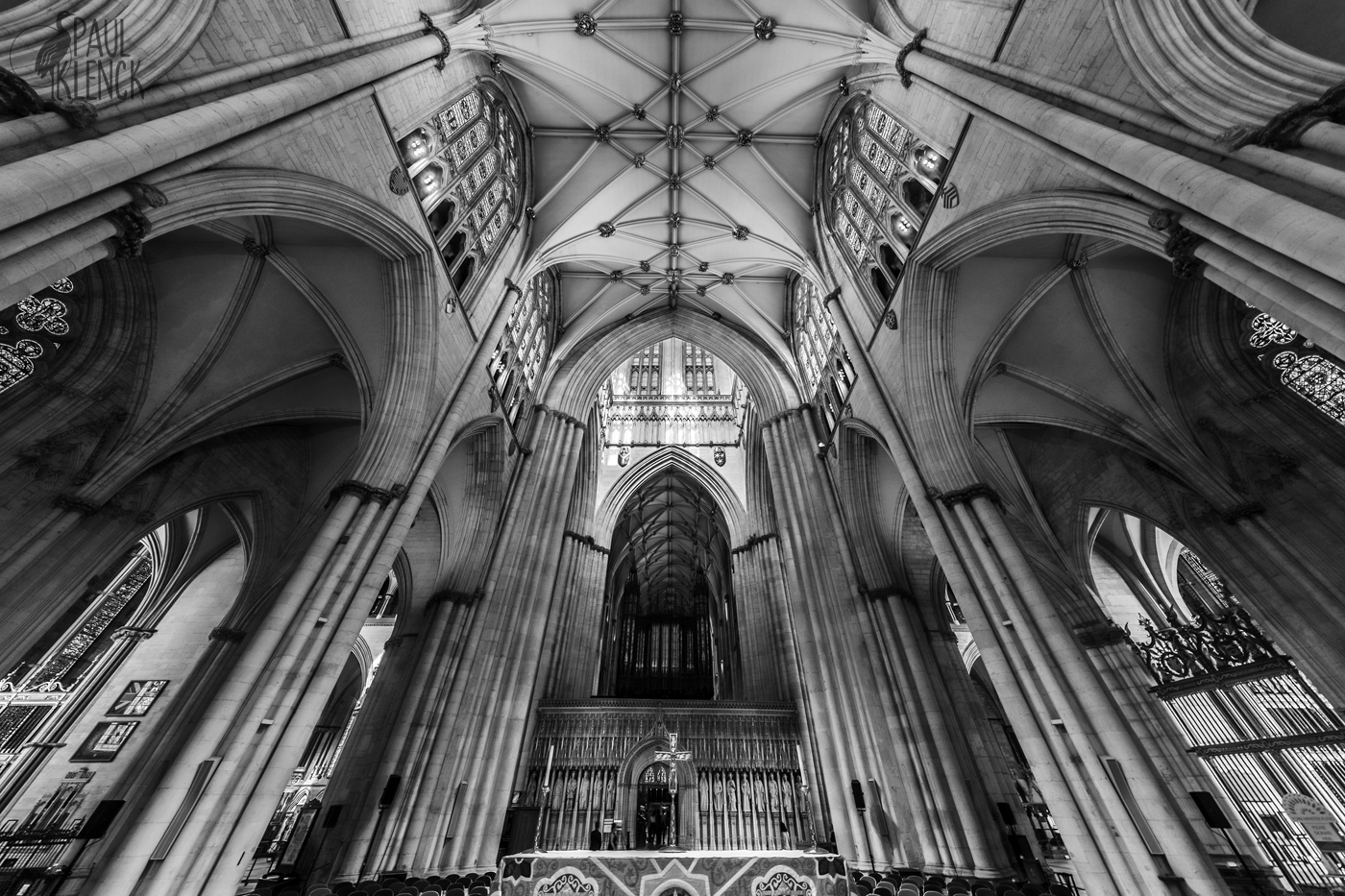Main altar looking to the choir