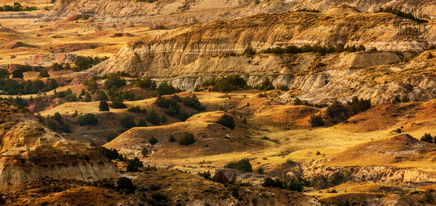 Badland view, Theodore Roosevelt National Park, South Unit