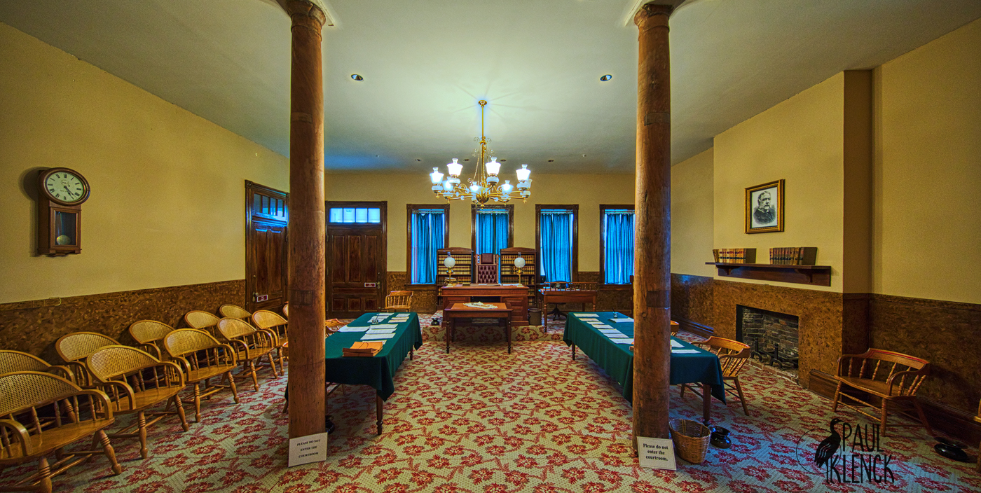 1870s Courtroom