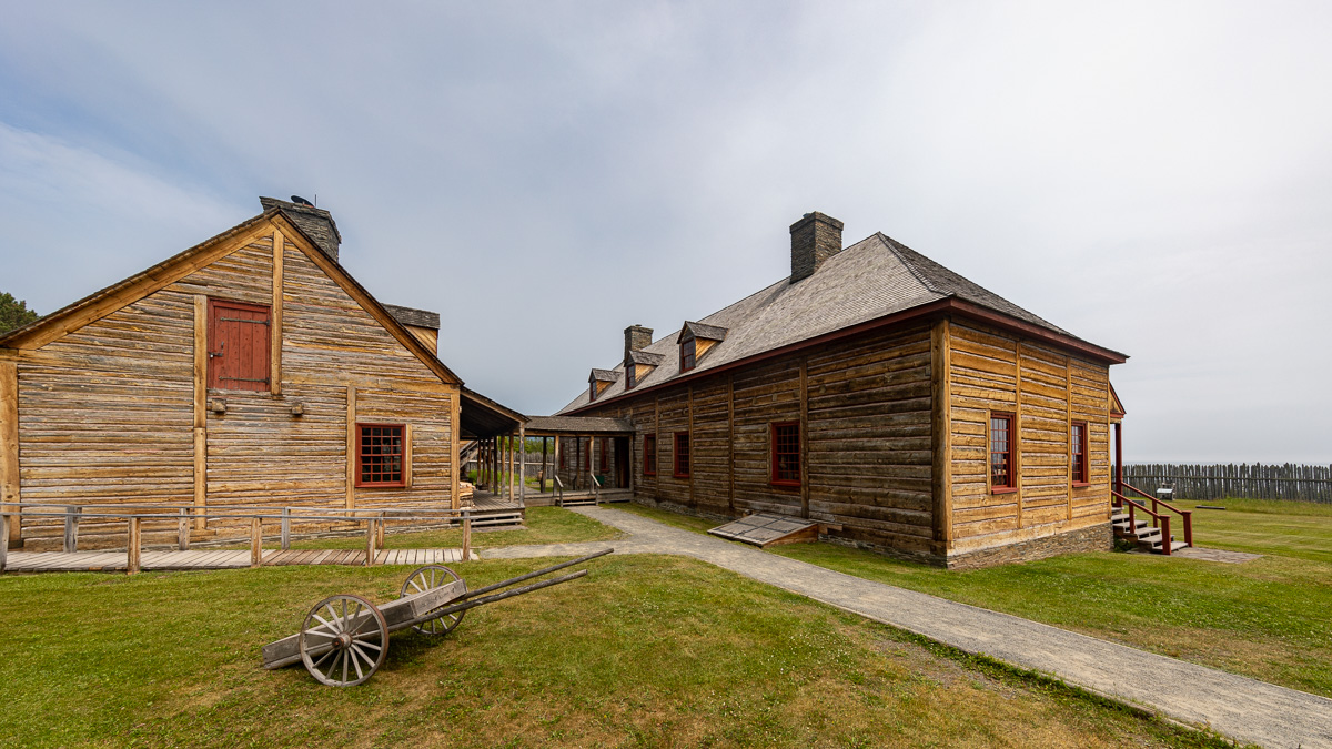 Kitchen and Grand Hall, Grand Portage National Monument