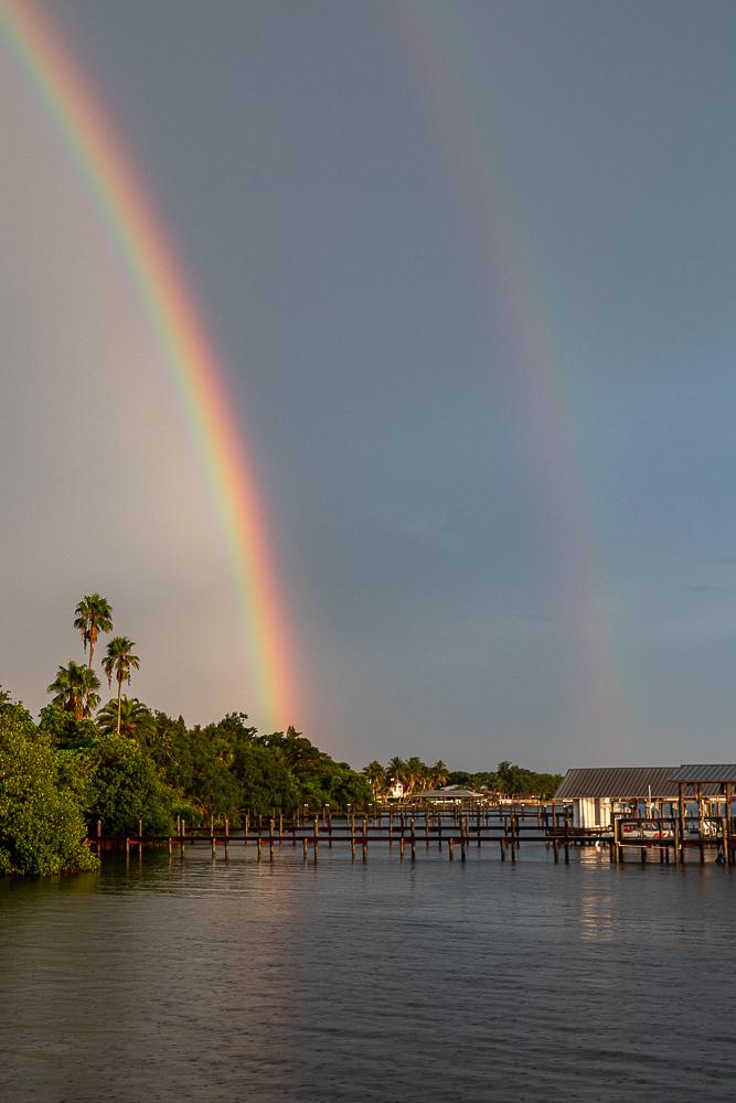 Melbourne Beach rainbow