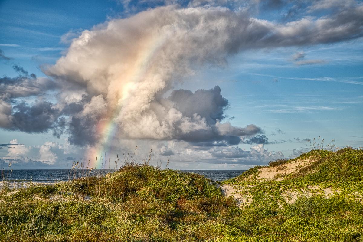 Butler Beach rainbow