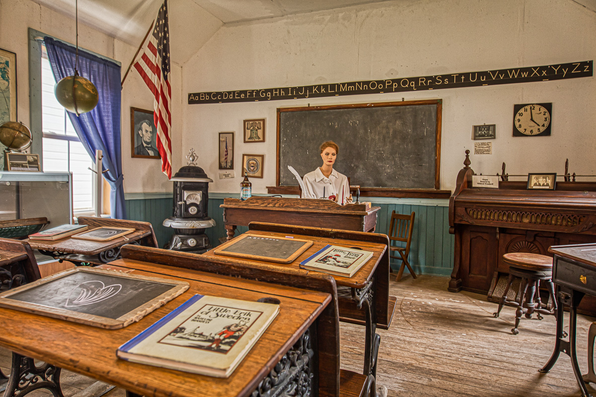 District 91 schoolhouse