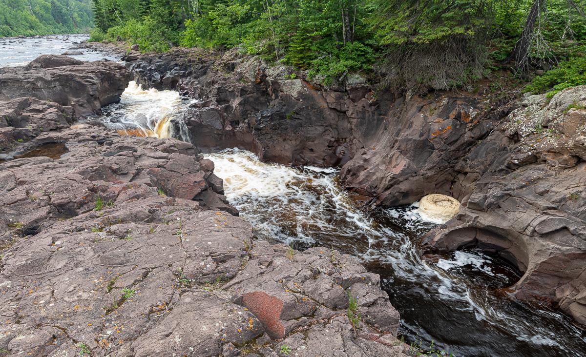 Hidden Falls, Temperance River State Park, Minnesota