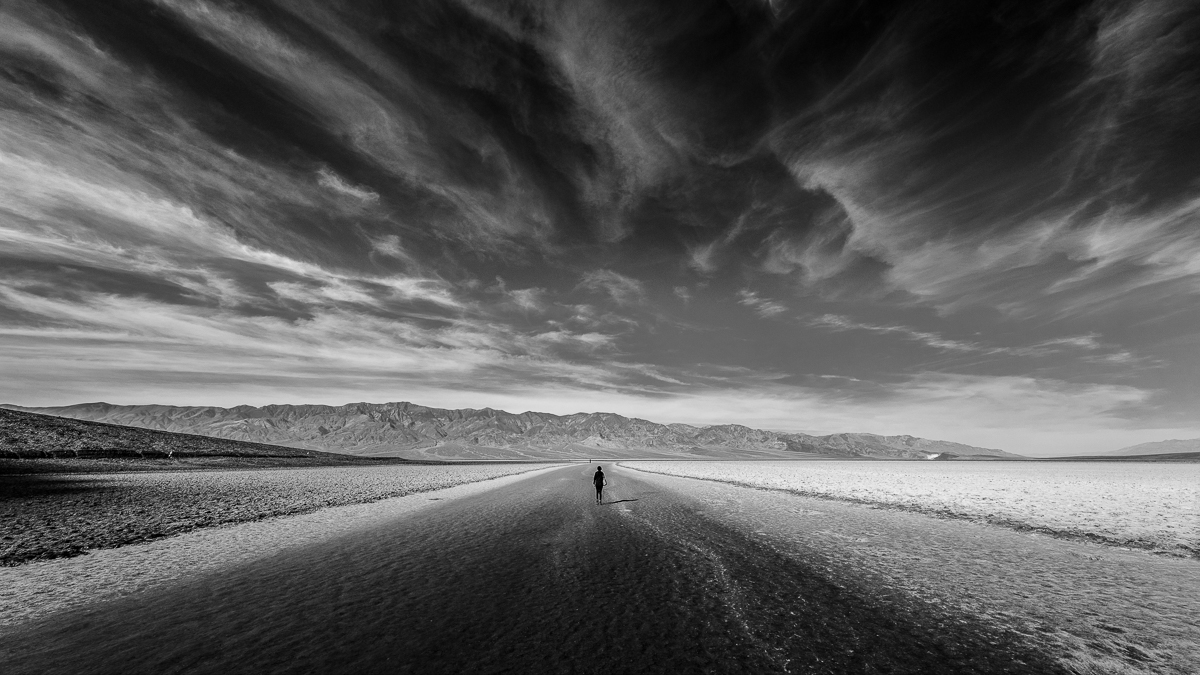 Badwater Basin, Death Valley National Park, Nevada