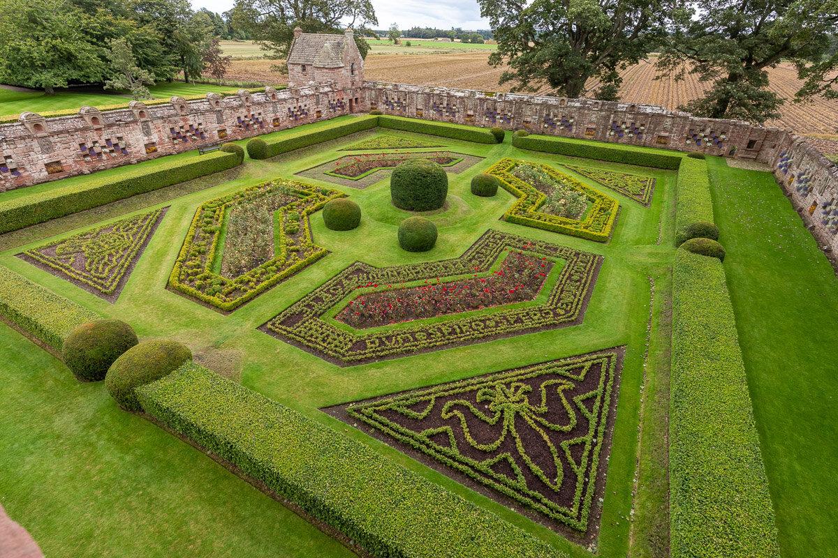 Edzell Castle walled garden