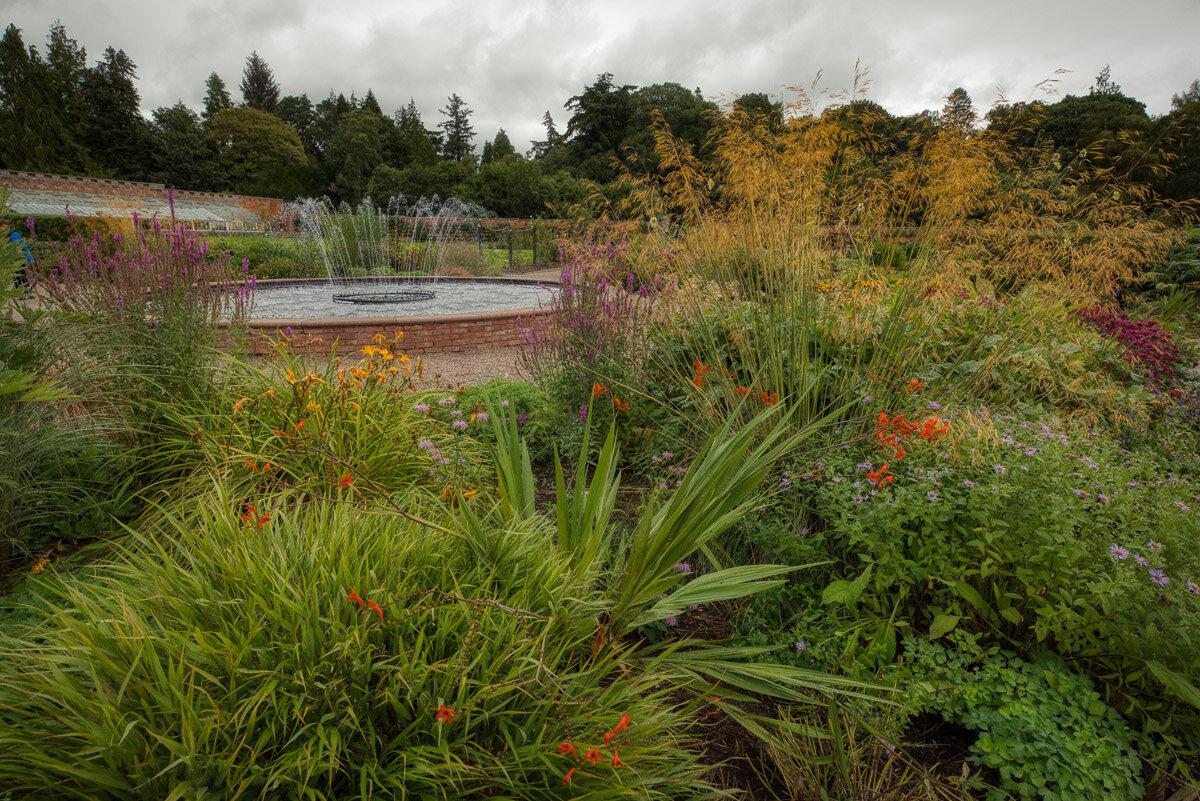 Scone Palace walled garden