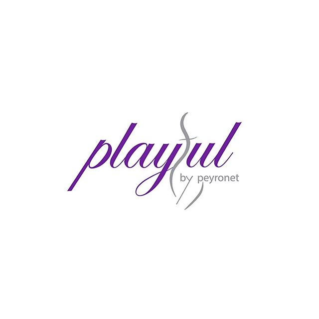 Stormy weather in FL today ☔️ which means waiting forever in school pick up line and going through old photos.  Found this logo we designed a way back for the incredibly talented @peyronetphotography Boudoir 💜