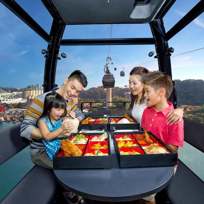 乐游缆车,欢享新加坡美食
