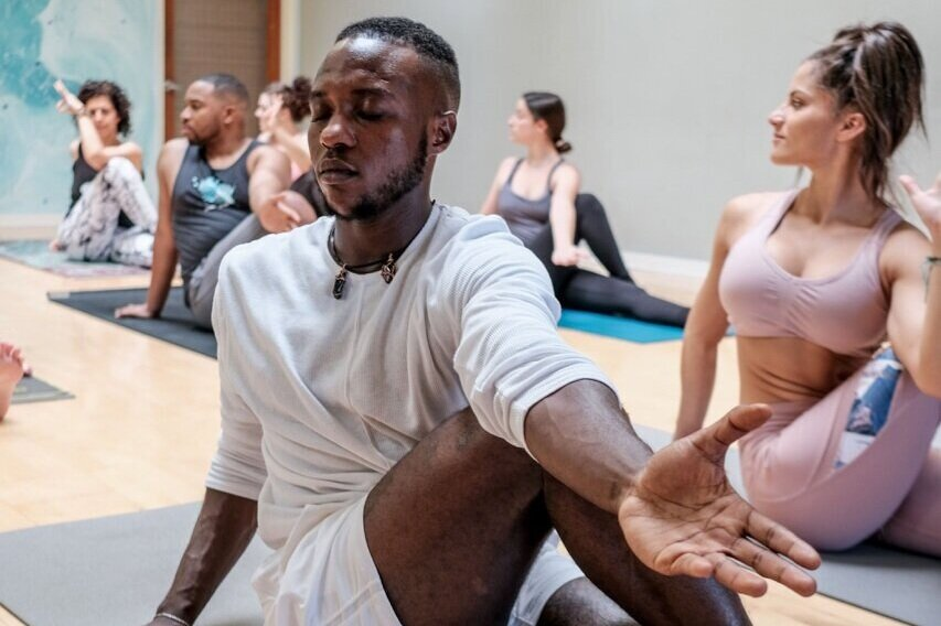 New to Yoga? - Are you you new to this and not sure where to start? You're in the right place!Click below learn everything you need to know so you can feel like a pro when you come in for your first class.We love introducing people to the magic of yoga - you are in good hands and we can't wait to meet you!