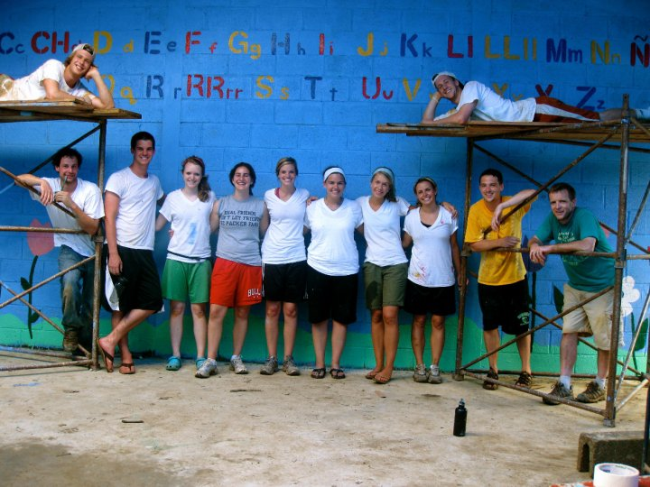 Mission trip to Guatemala in 2010