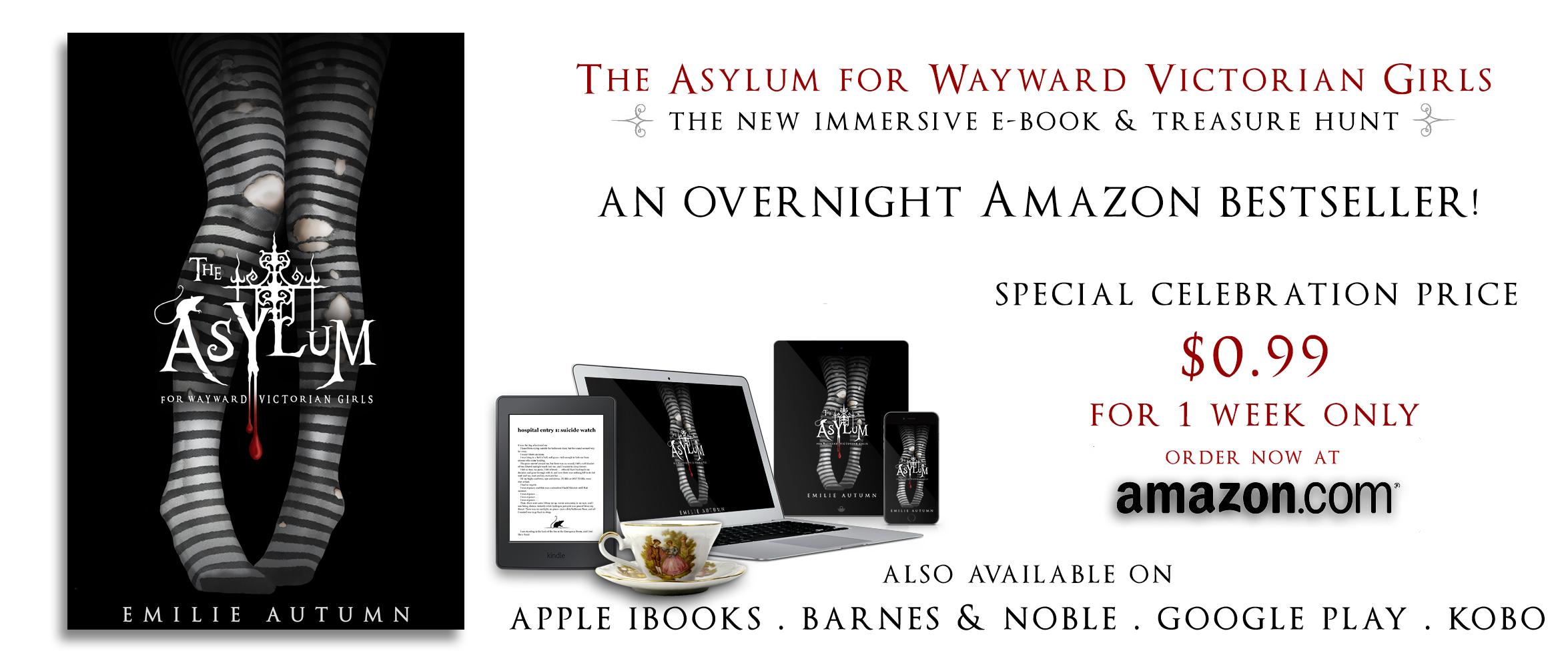 The Asylum eBook on Amazon