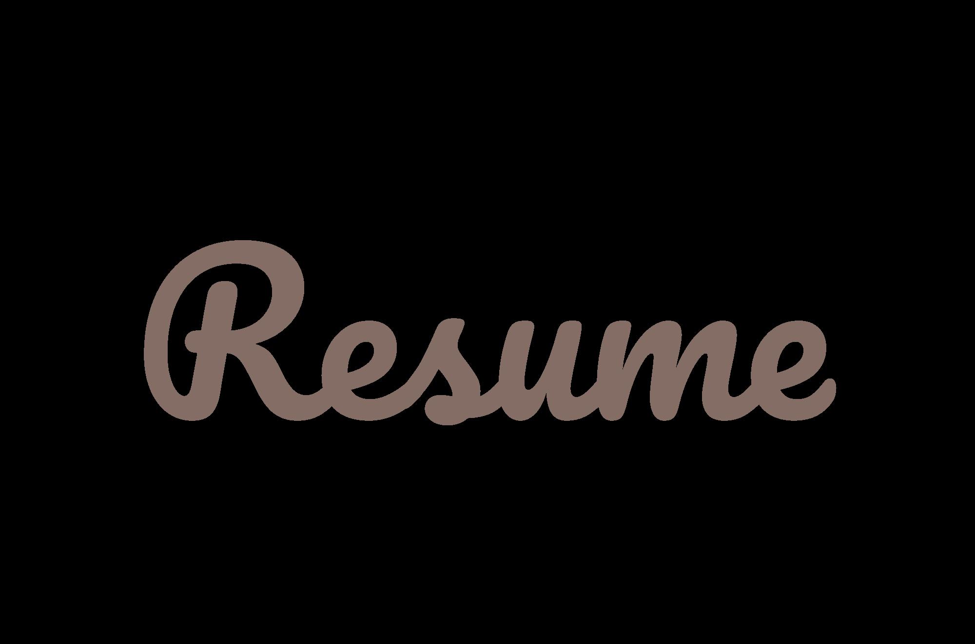 Resume-logo.png