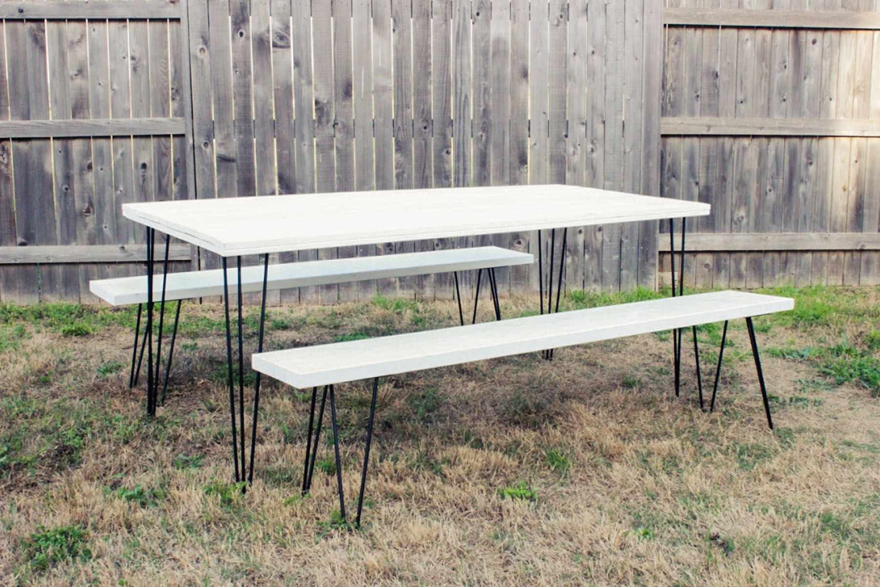 Jetson Benches - Scavenged Vintage