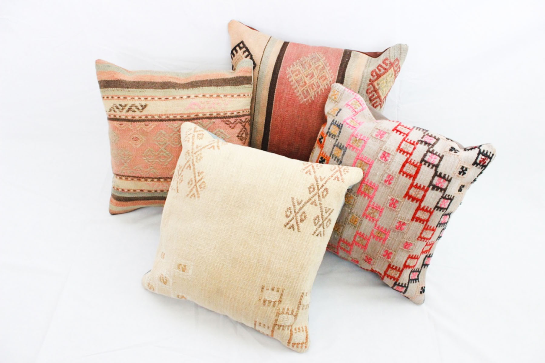 Killim Pillows - Scavenged Vintage Rentals