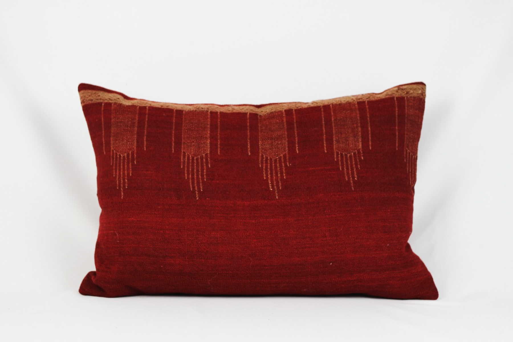 Red Killim Pillow - Scavenged Vintage Rentals
