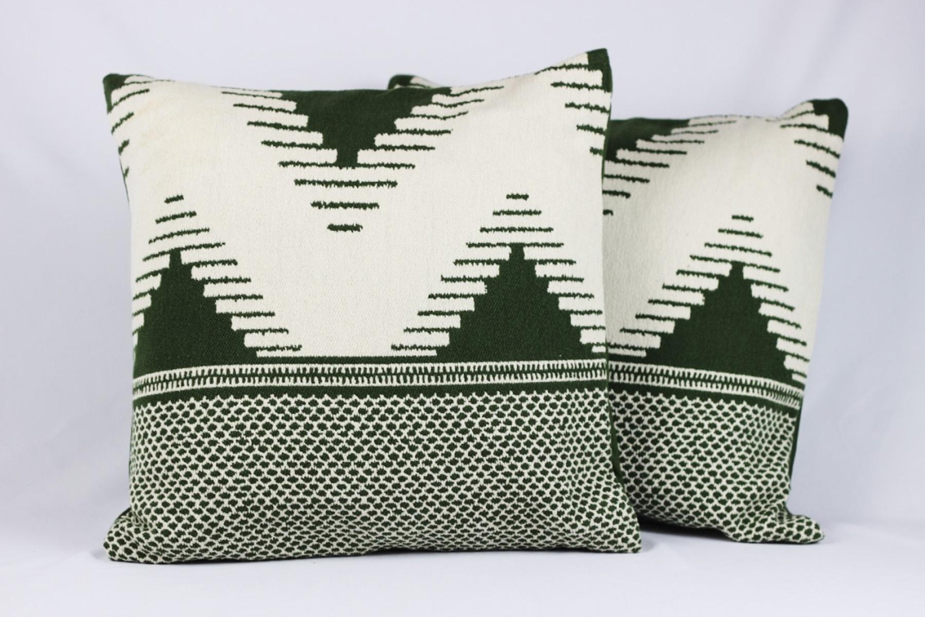 Azrael Pillows - Scavenged Vintage Rentals