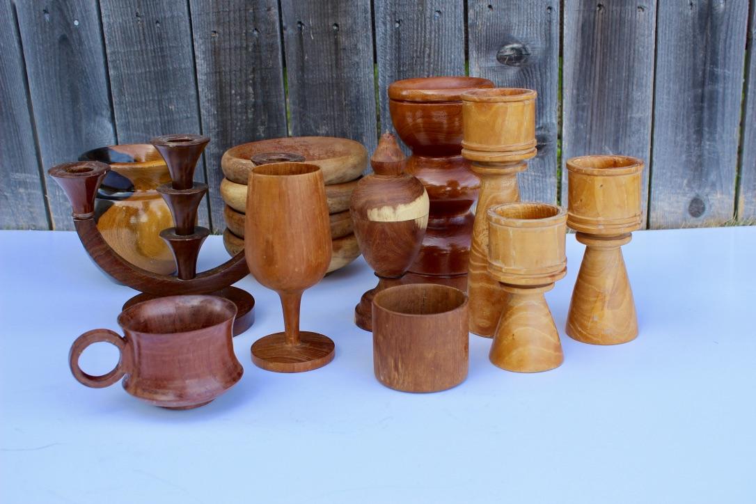 Wood Accessories - Scavenged Vintage Rentals