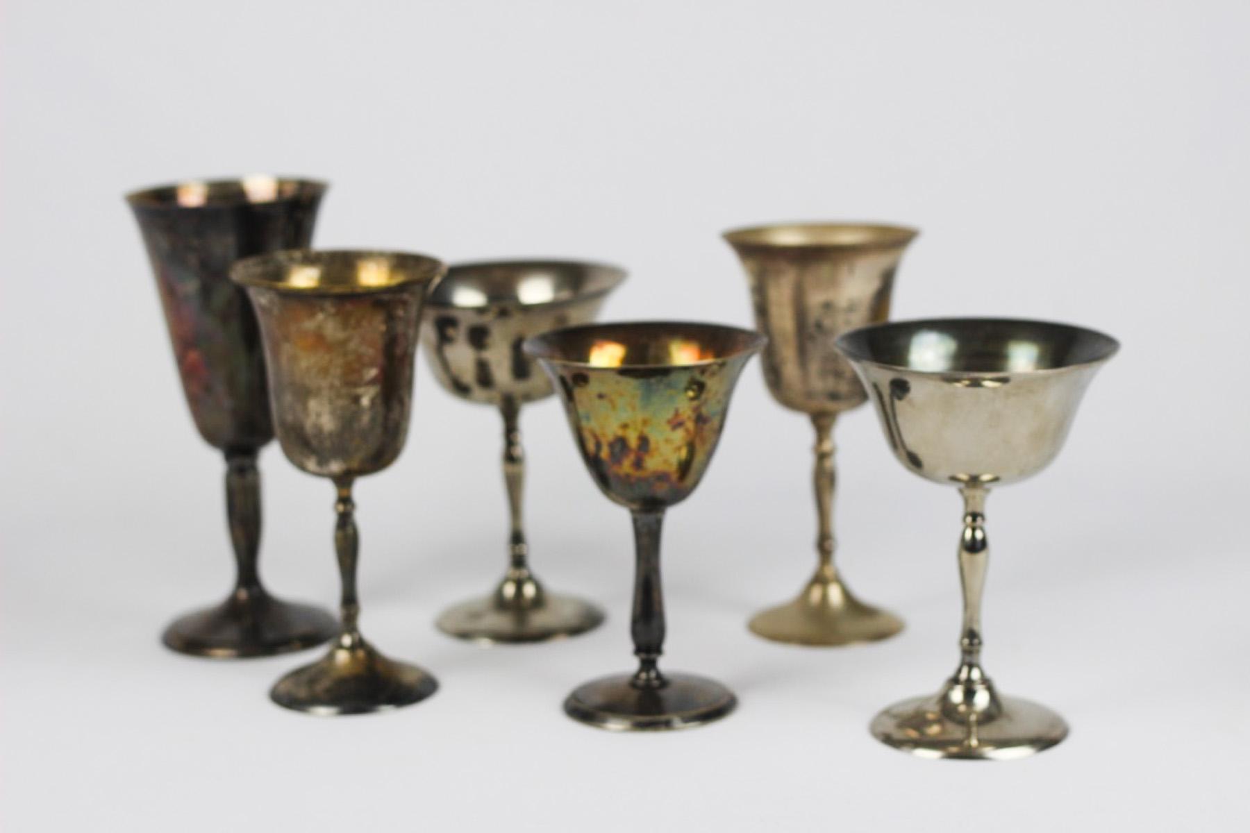 Silver Goblets - Wedding Rentals Austin