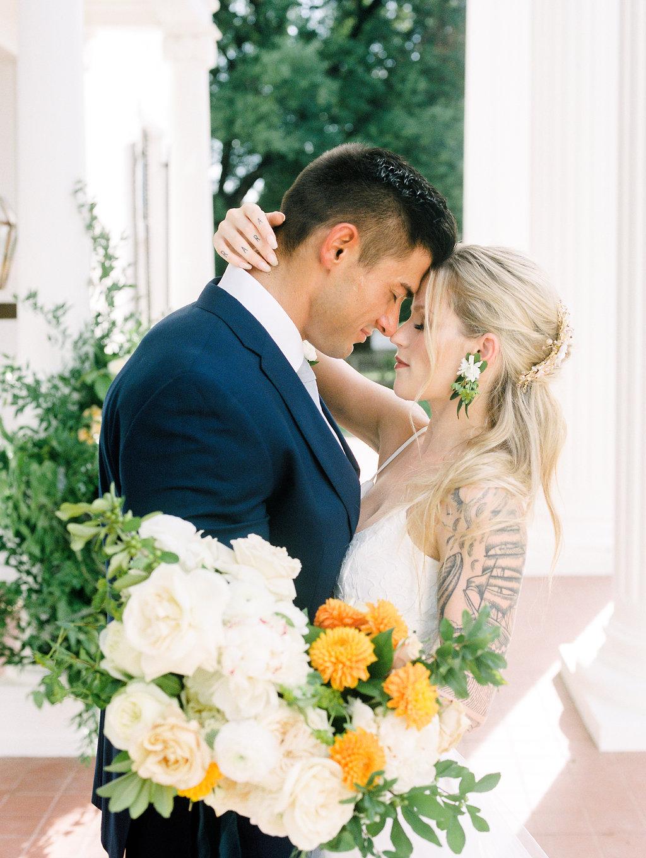 Modern Terracotta Wedding - Austin Wedding Rentals