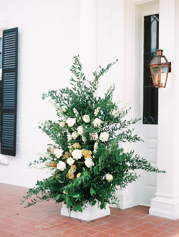Modern Terracotta Wedding Florals