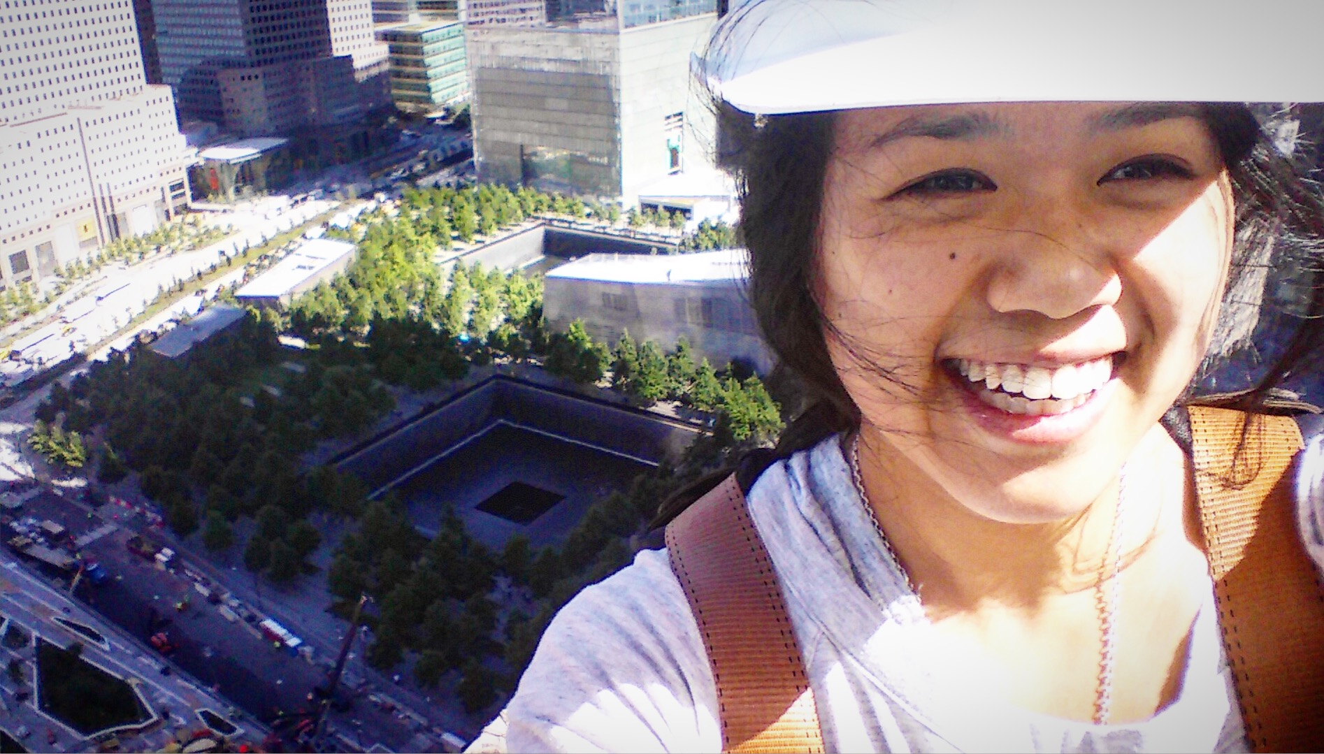 My Snoselfie, hanging off the 27th floor of 133 Greenwich, May 2016
