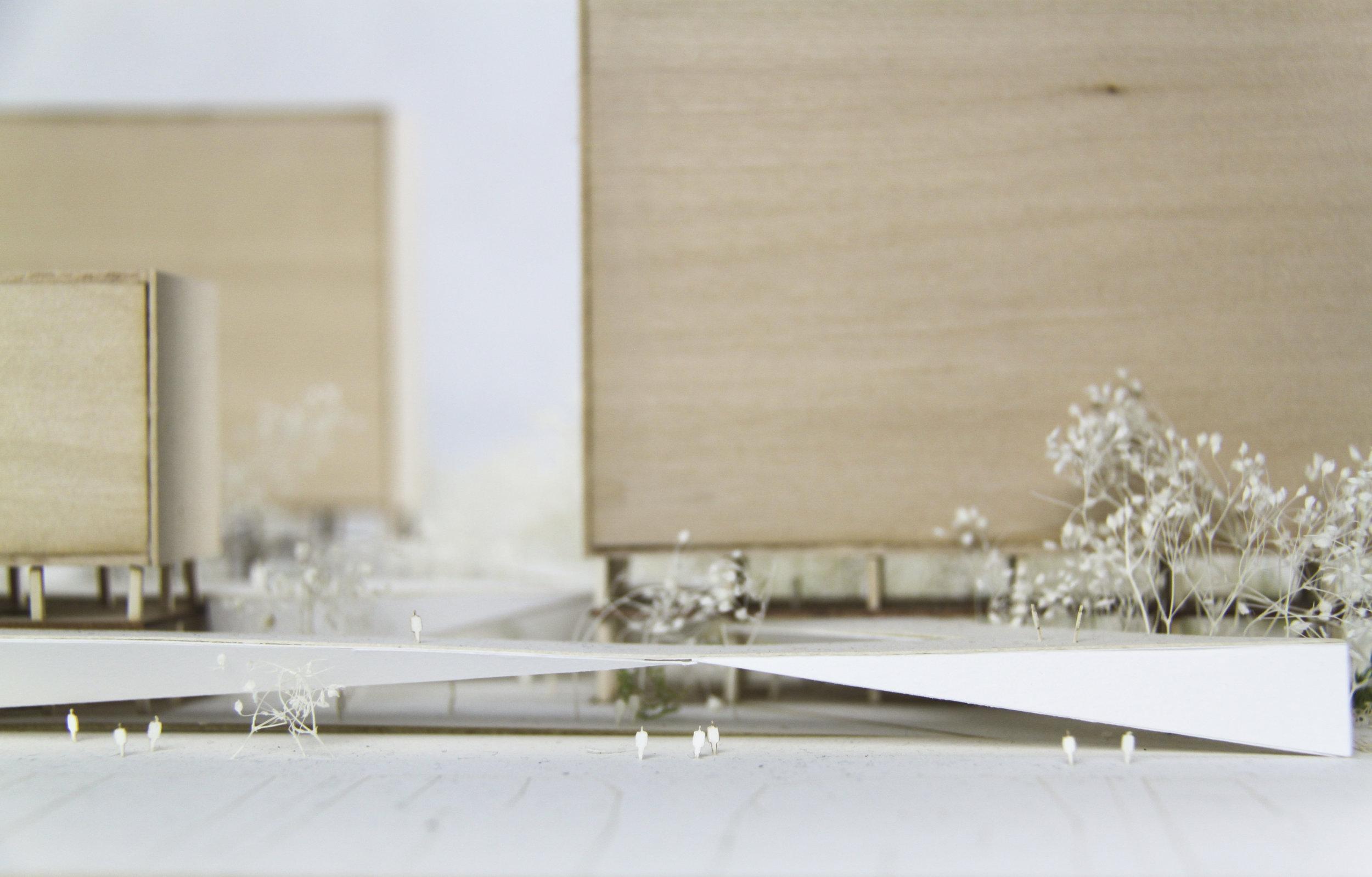 Concurso/Concourse, model from Hilary Sample's studio.