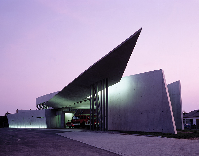 The Vitra Fire Station, Weil am Rhein, Germany (1993) / image by Christian Richters