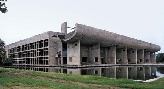 Palace of the Assembly (Chandigarh), Now a UNESCO World Heritage Site