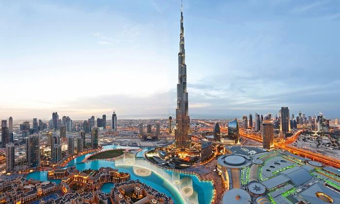 The Burj Khalifa, Dubai completed in 2010.
