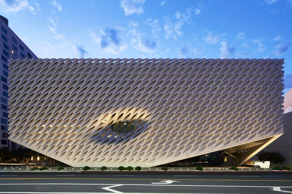 Diller, Scofidio and Renfro's Broad Museum in LA, USA.