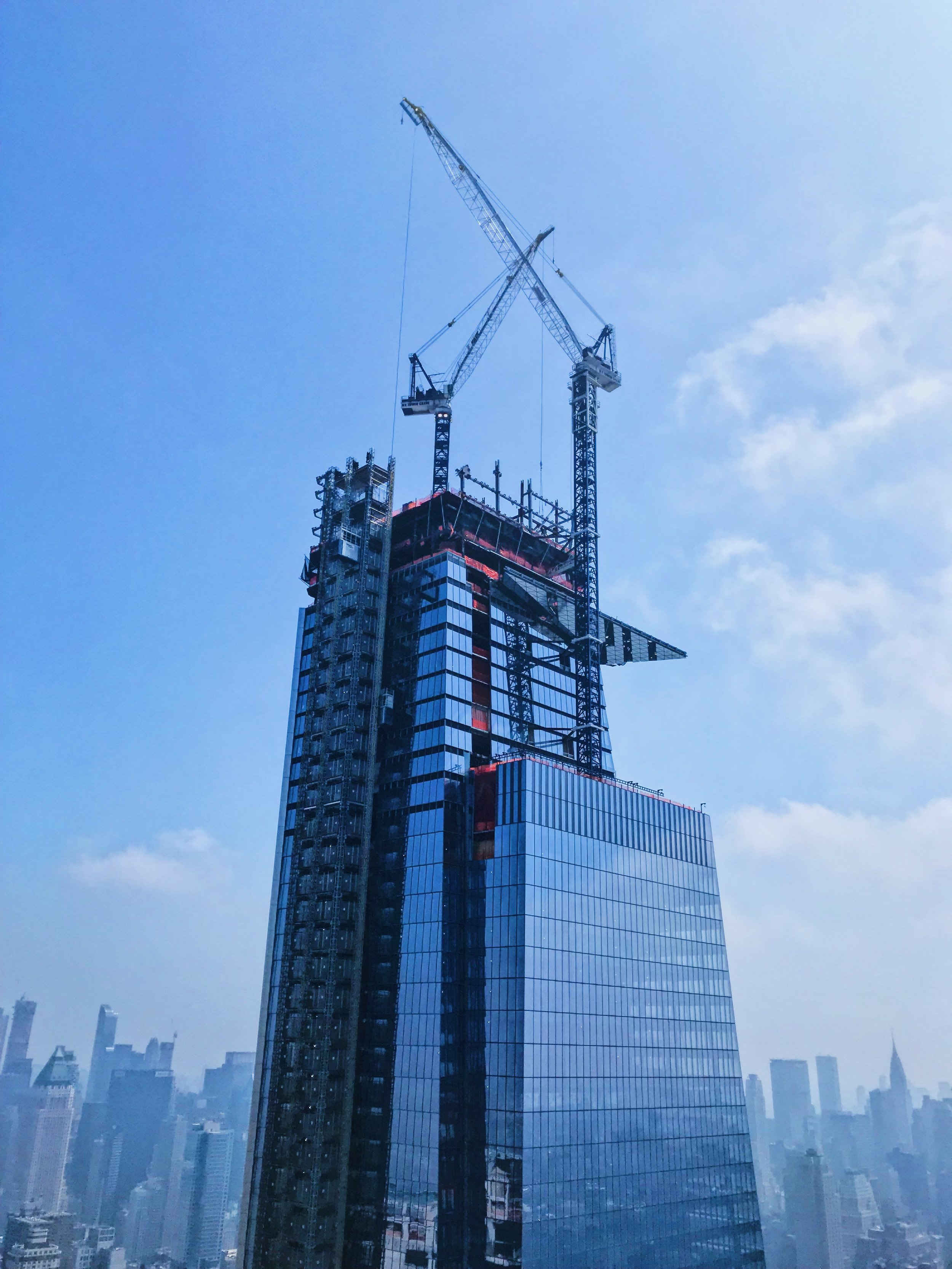 KPF's Tower A. They have started constructing the observation deck which will be the tallest vantage point on Manhattan.