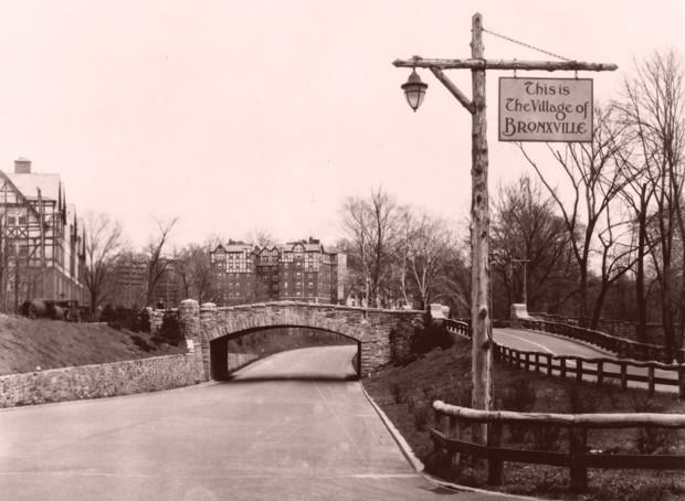 Bronx River Parkway.
