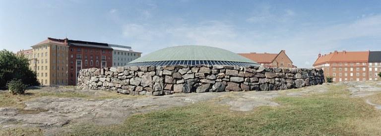 Copper dome.