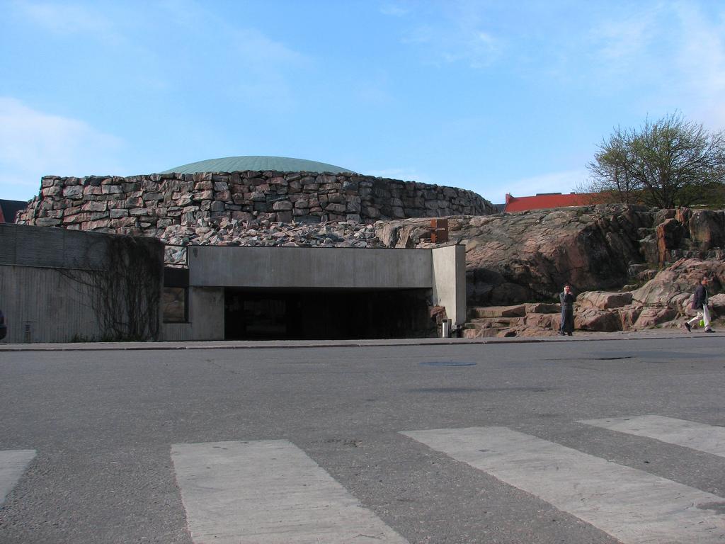Building entrance.