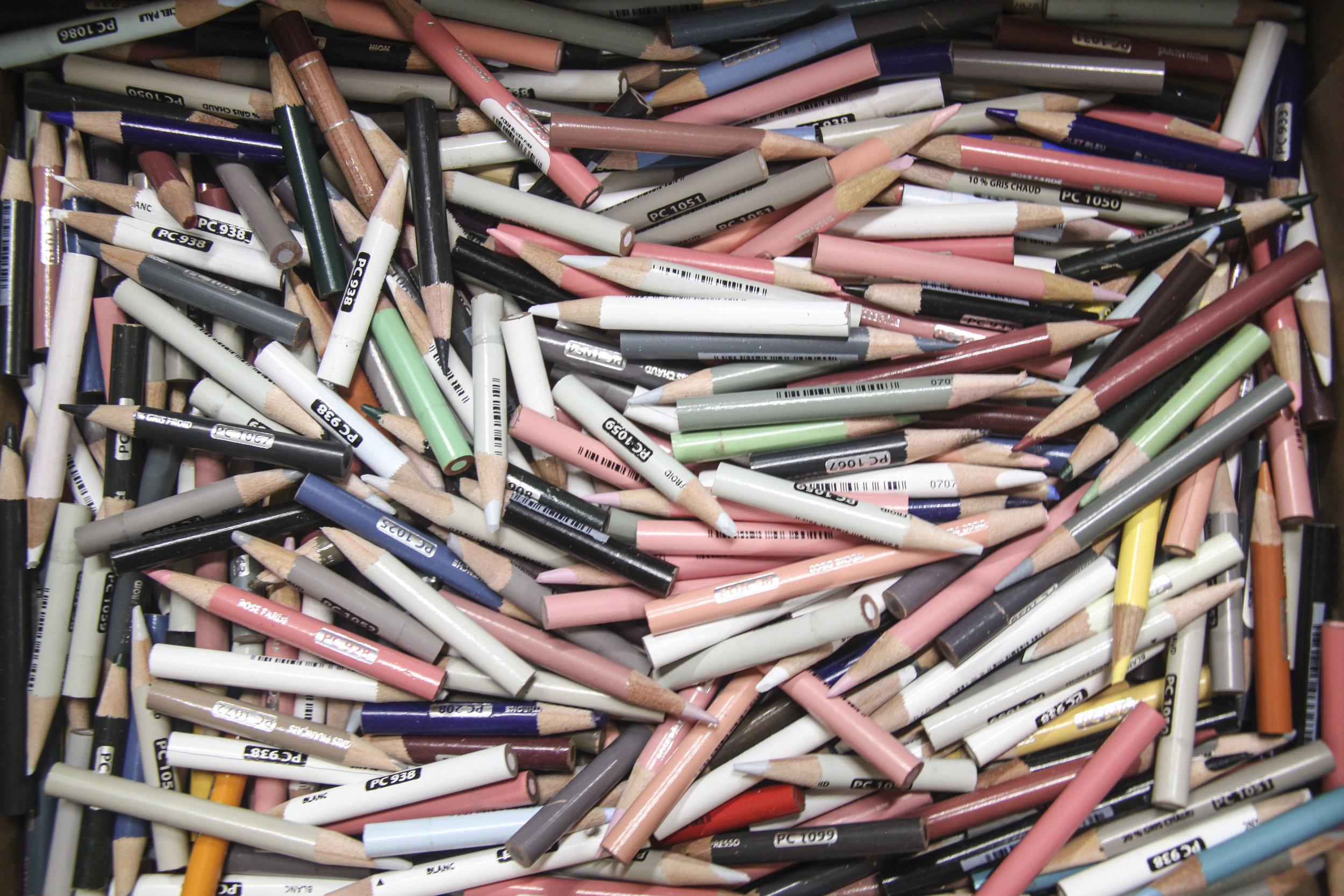 Pencil Graveyard.