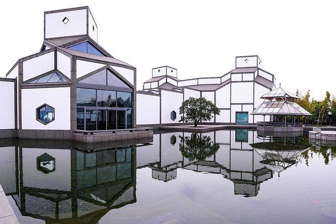 Suzhou Museum, in the Jiangsu Province, China.