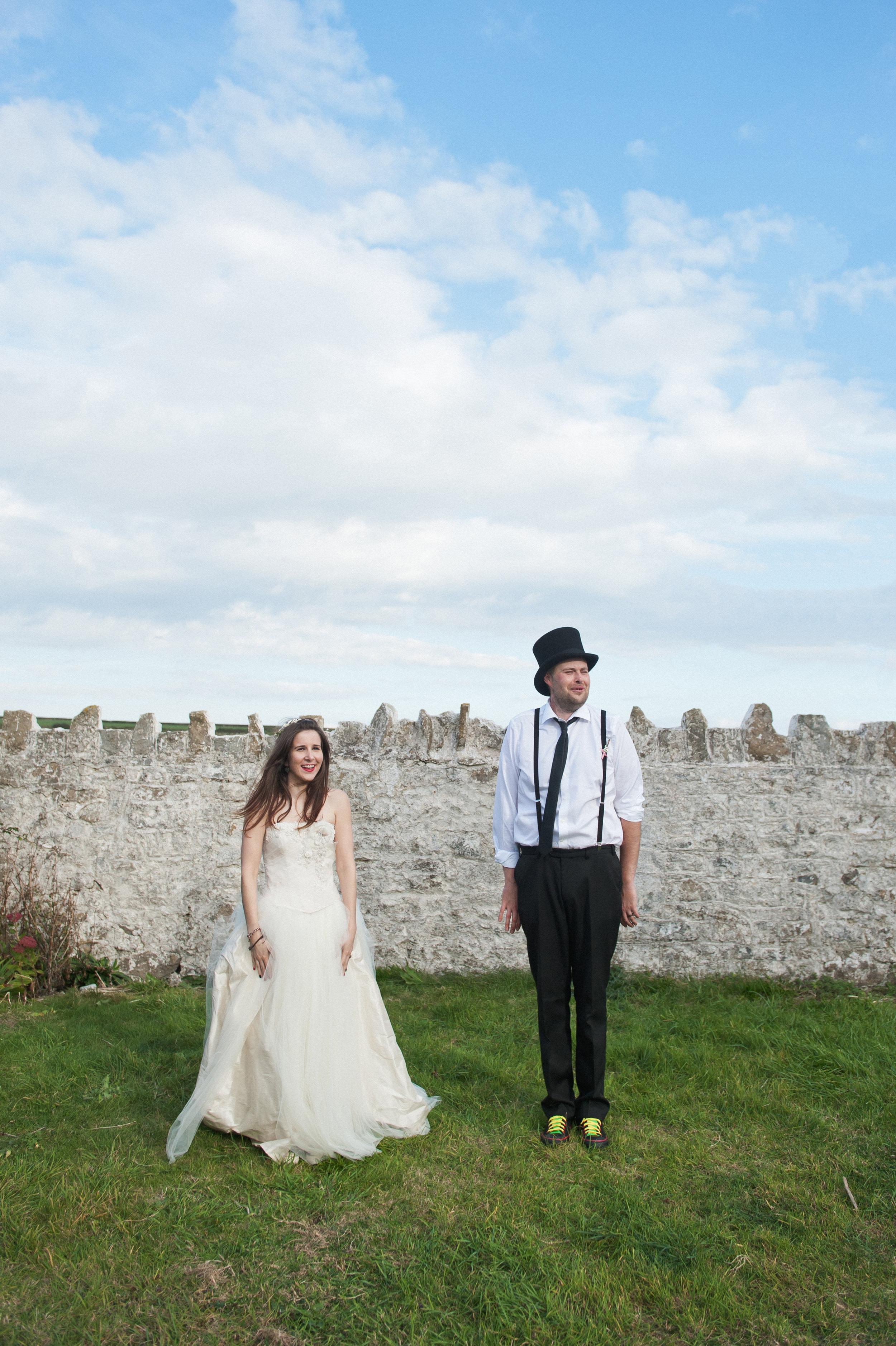 Holly & Tom - Rock N Roll Bride