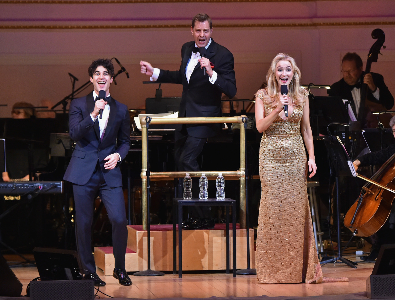 Performing with Darren Criss and The New York Pops at Carnegie Hall