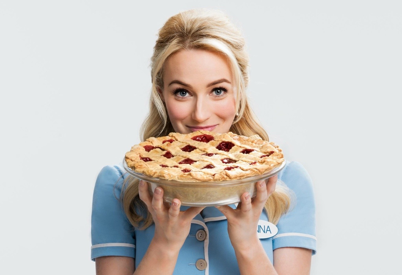 Betsy starring in Waitress  on Broadway
