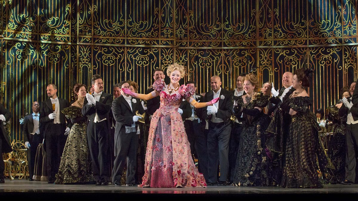 Betsy starring in  Die Fledermaus  at the Metropolitan Opera