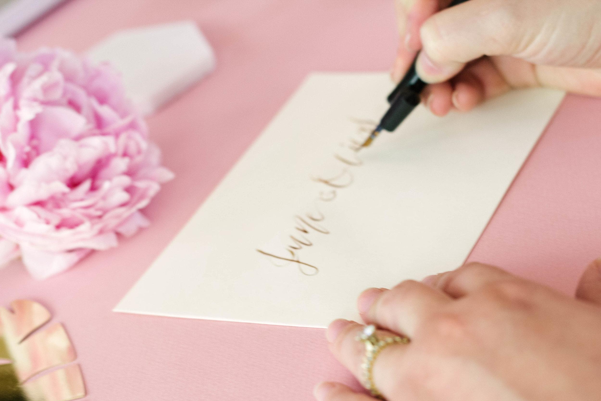 Lauren Antoniaa Calligraphy