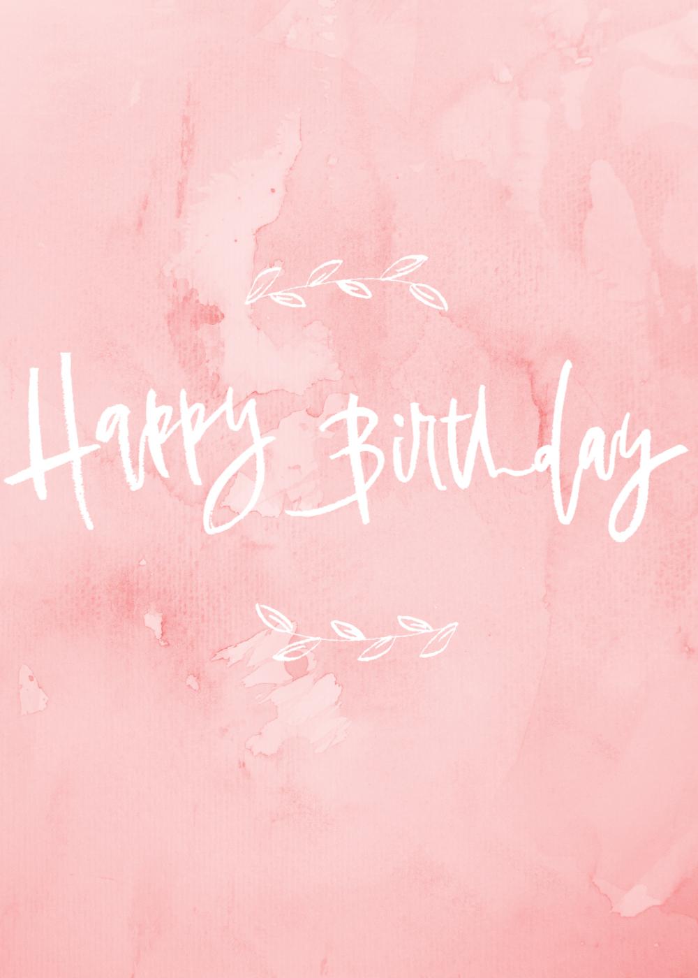 Lauren Antoniaa Happy Birthday card