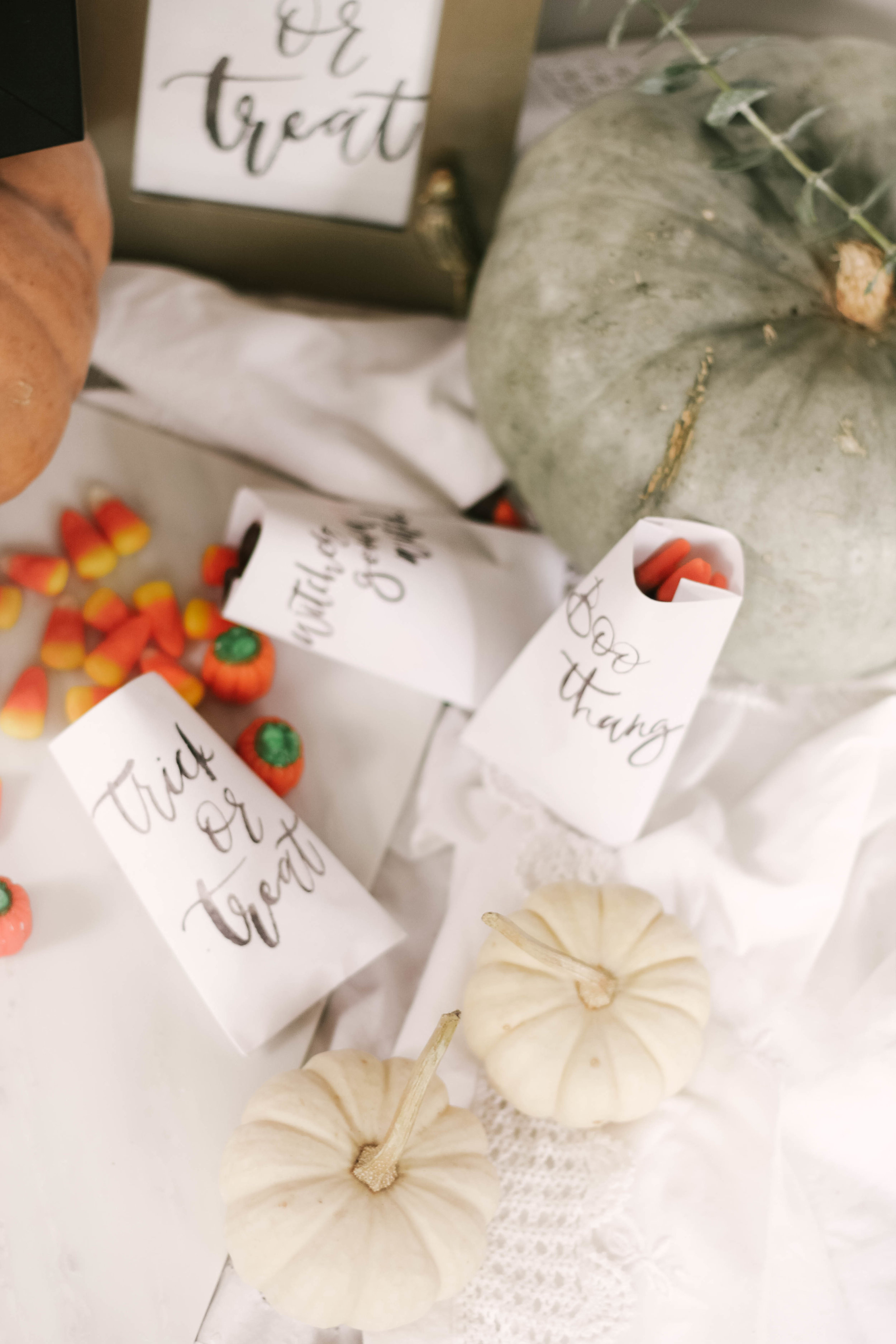 Printable Halloween Party Favor Bags
