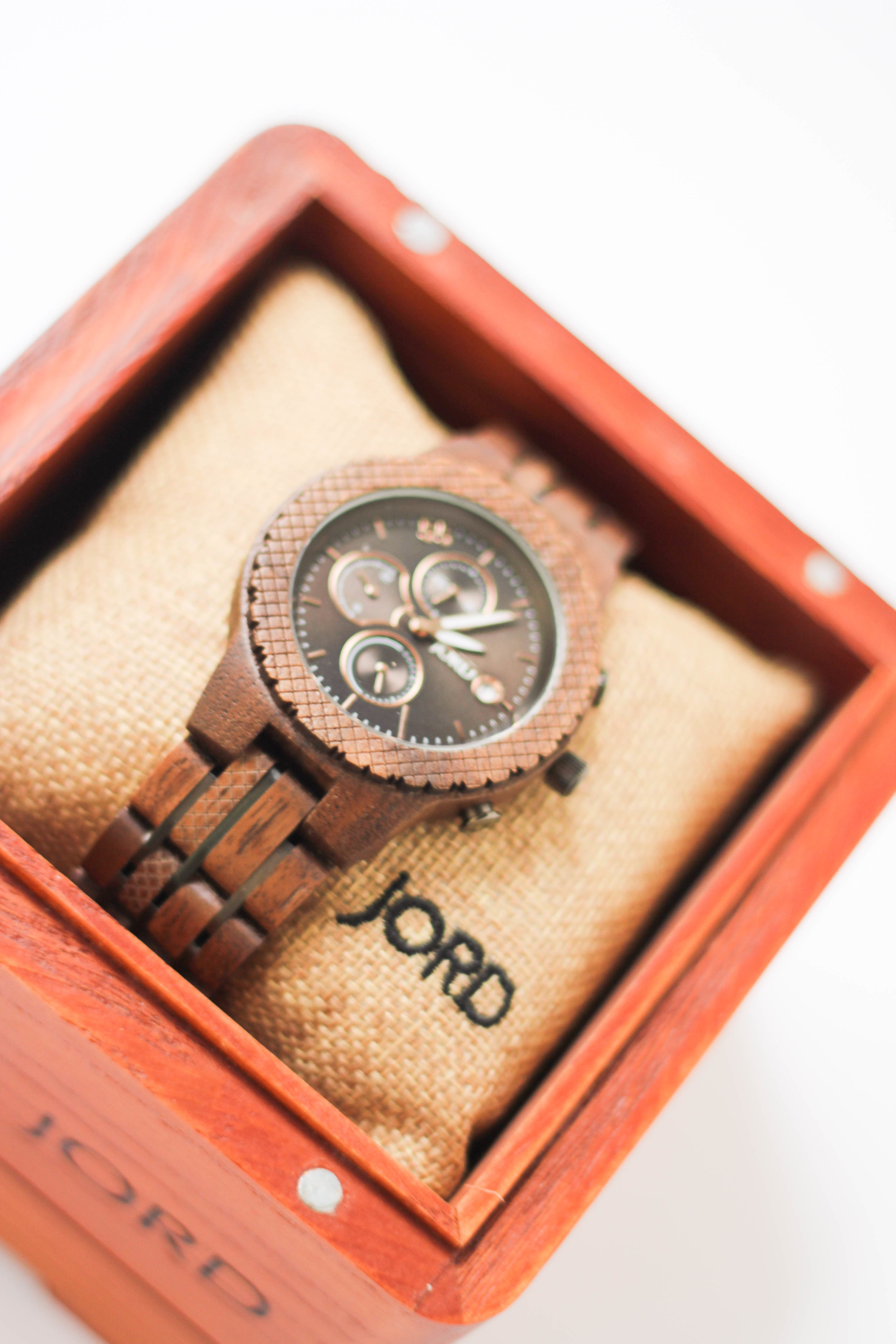 """<img src=""""(your watch photo).jpg"""" alt=""""JORD (conway) Watch"""" gift guide for him and 25 percent off discount code=""""(Conway Walnut & Black Series)""""/>"""
