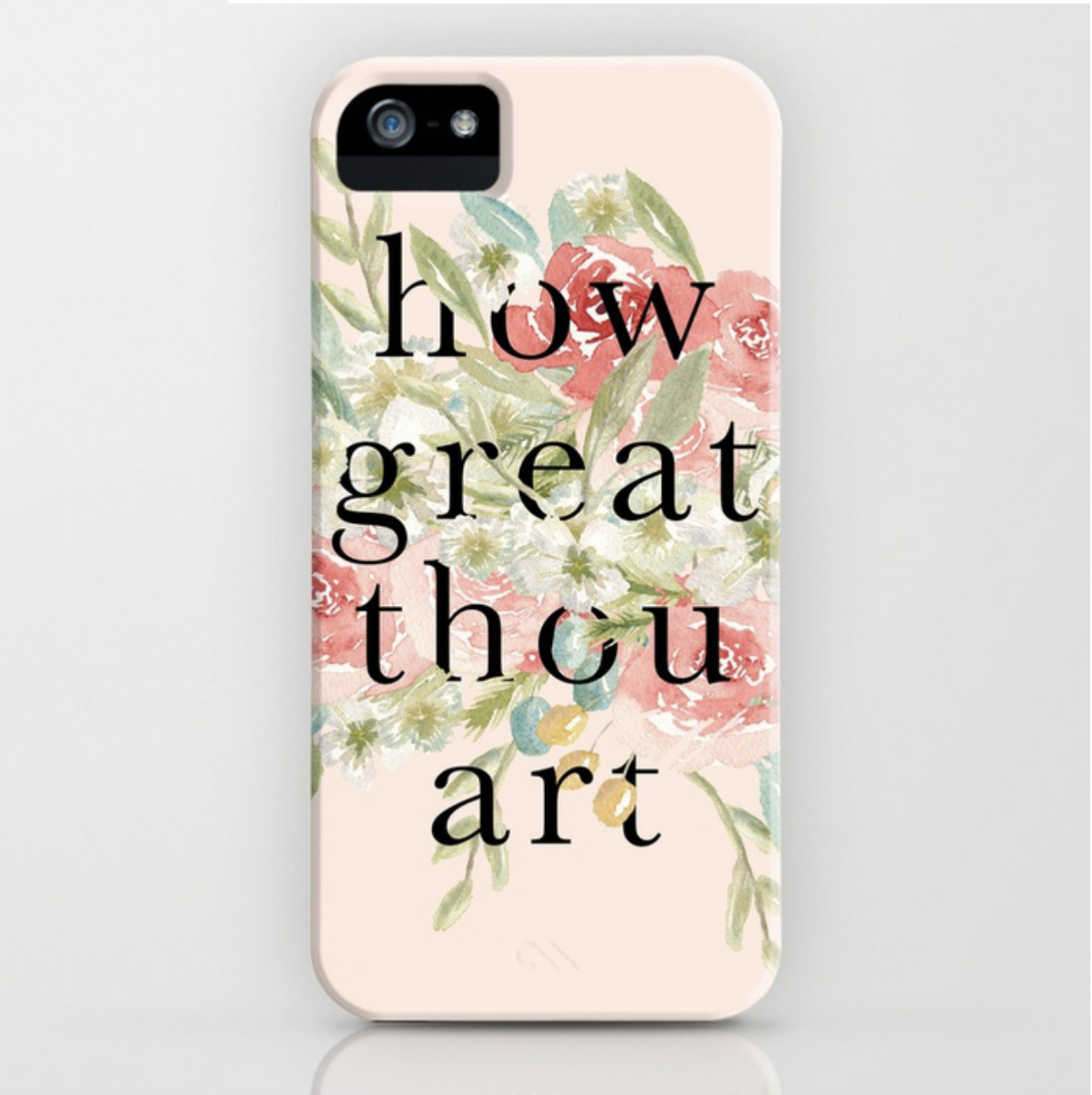 How Great Thou Art Typography